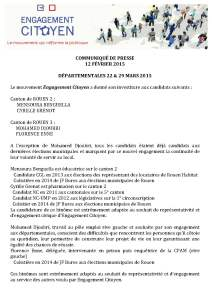 COMMUNIQUÉ DE PRESSE EC ROUEN 20150213